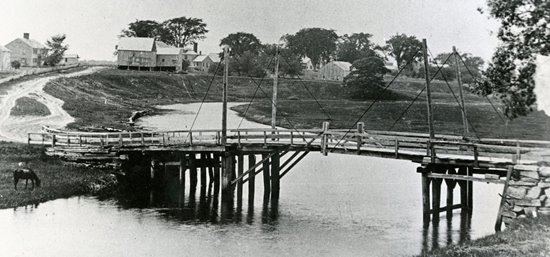Durrell's Bridge circa 1884