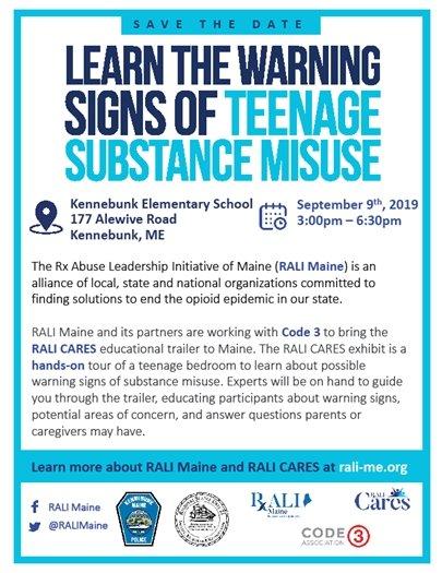 Teenage Substance Misuse