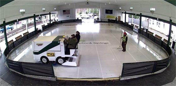 Skating rink preparations