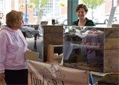 Bakery items at market
