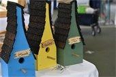 Maine themed birdhouses