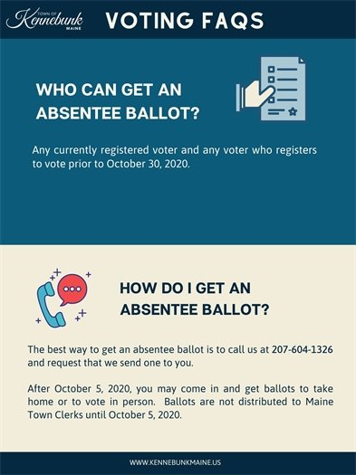 Who can get absentee ballots?