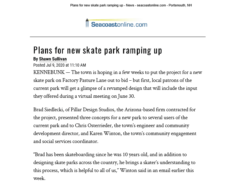 Plans for new skate park ramping up, YCCS