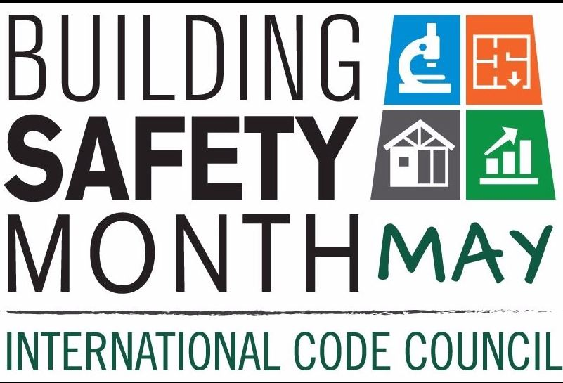 Building Safety Month May 2017 logo