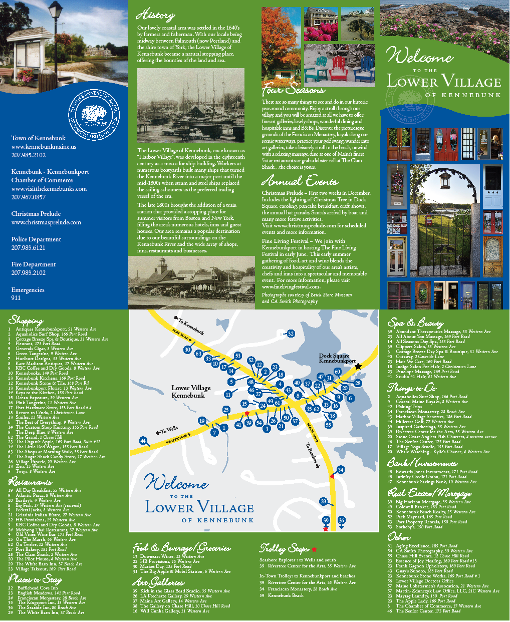 Lower Village brochure