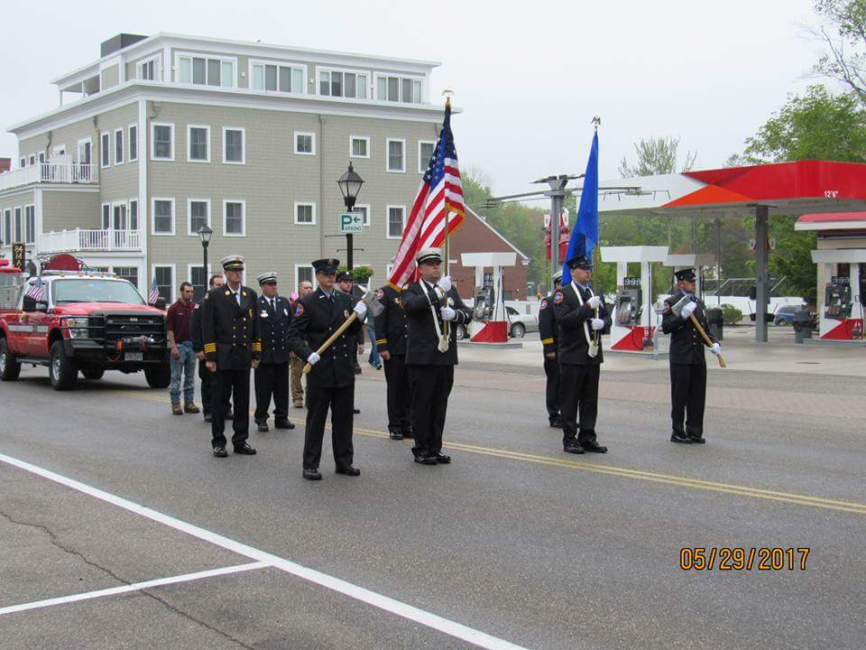 Kennebunk Fire Rescue Color Guard