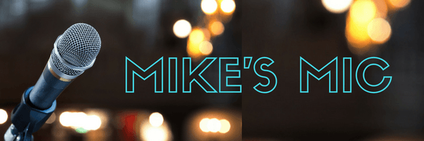 Blog Header: Mike's Mic