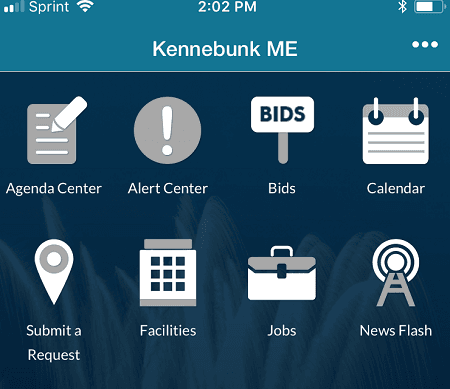 Town of Kennebunk Mobile App