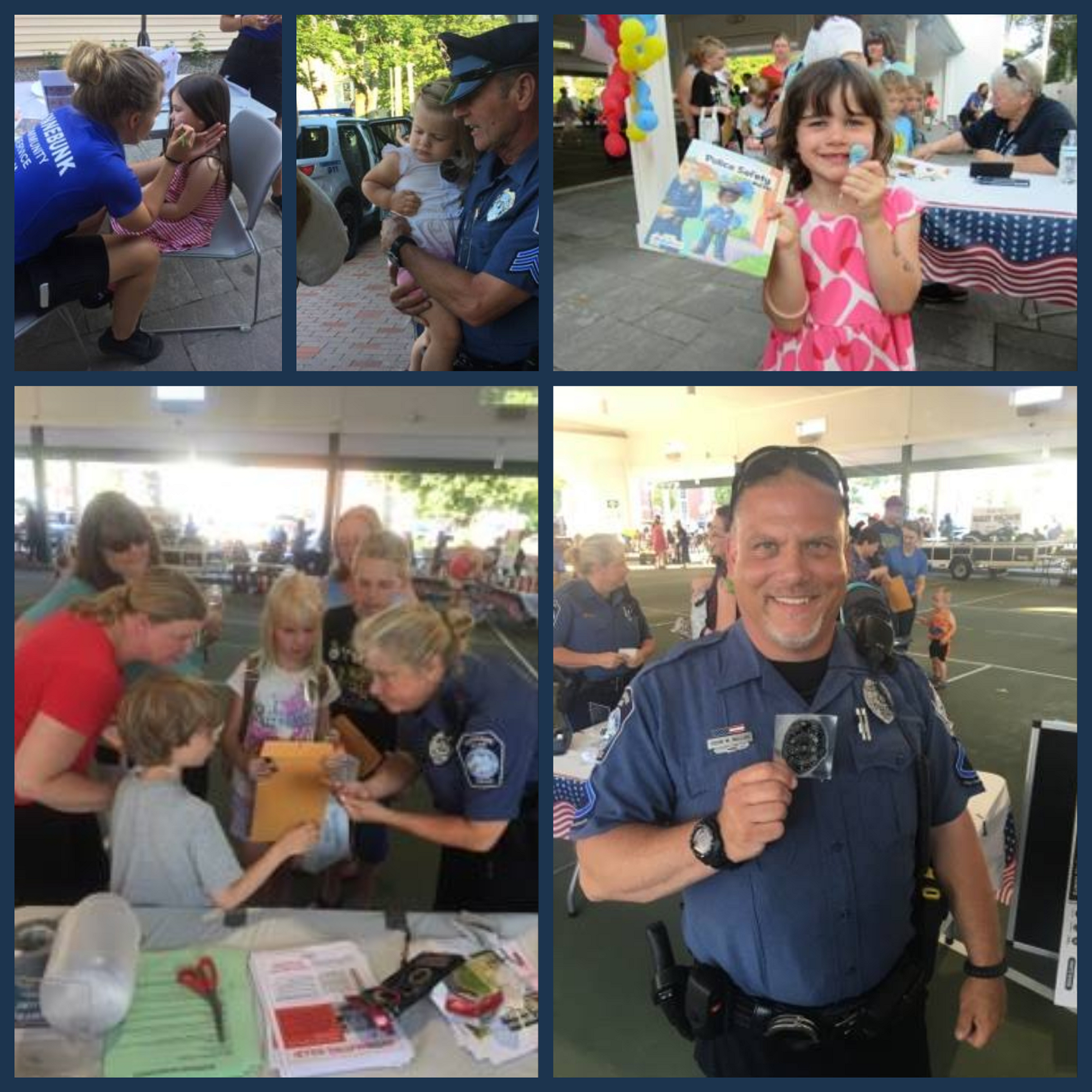 National Night Out with Kennebunk Police Department