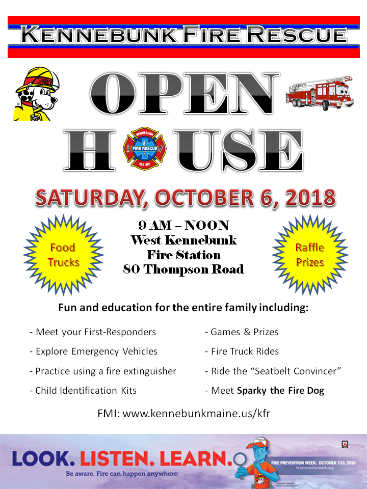 2018 FPW Open House Flyer
