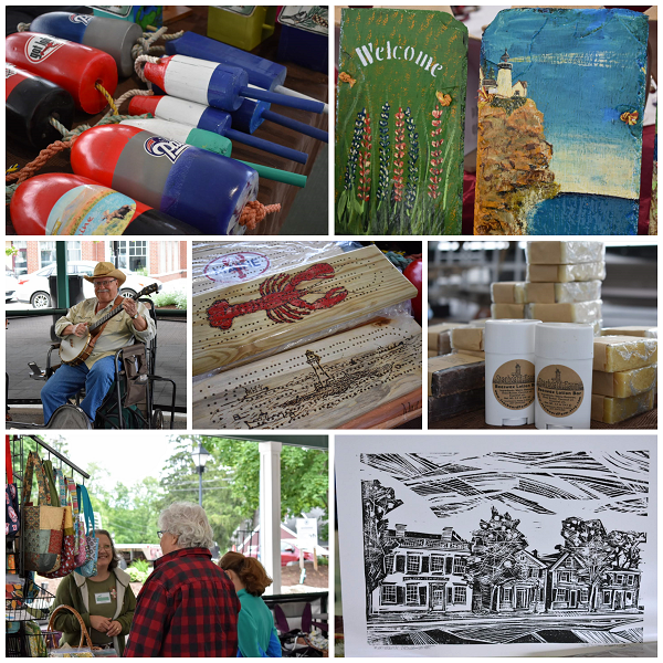 Maine-produced products featured at the Community Market