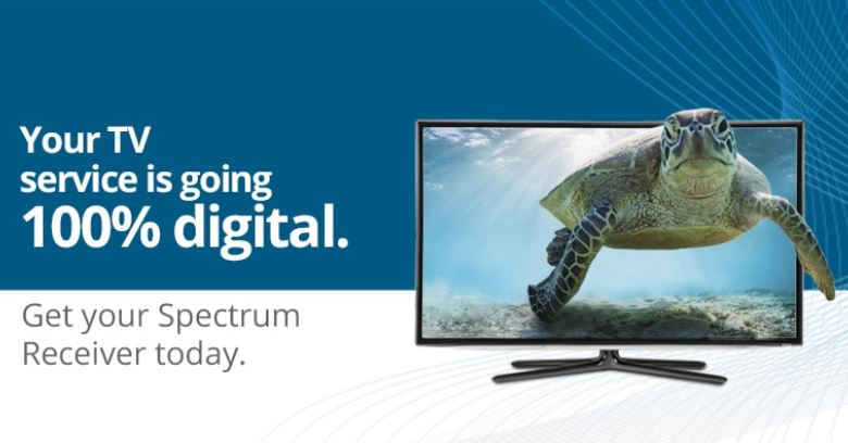 Spectrum digital only picture