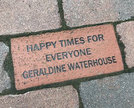 Happy Times for Everyone Geraldine Waterhouse brick